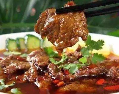 椒油大片牛肉特色湘菜满足你的味蕾