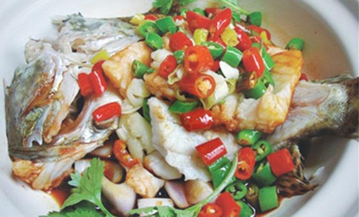 砂锅酱汁鲈鱼